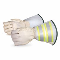 "5-Finger Lineman Glove c/w 6"" Cuff Water Repellent Size Large"