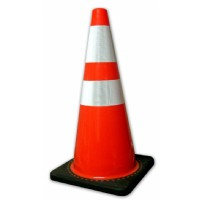 "28"" Traffic Cone c/w Reflective Collar"