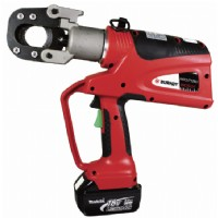 Battery Powered crimping tool, 14.5 in L, 3.5 in W, 18 V-DC