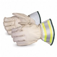"5-Finger Winter Lineman Glove c/w 2"" Cuff Water Repellent Size Large"