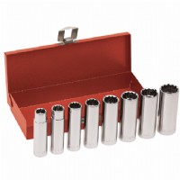 "8-Piece 1/2"" Drive, Deep-Socket Wrench Set"